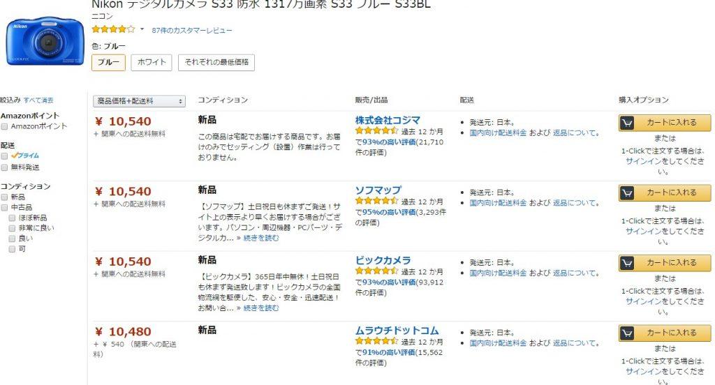 Amazonの相乗り出品のイメージ